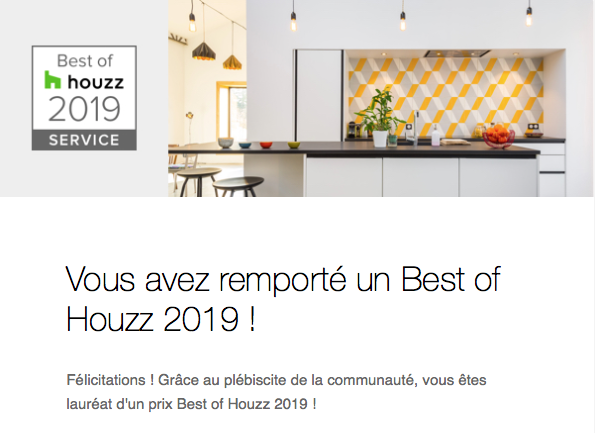 Best Houzz 2019 for Influences by C. Coataner